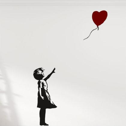 Banksy Girl Balloon